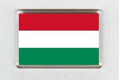 Hungary Flag Fridge Magnet