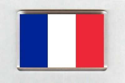 France Flag Fridge Magnet