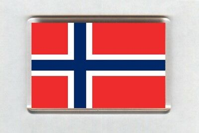 Norway Flag Fridge Magnet
