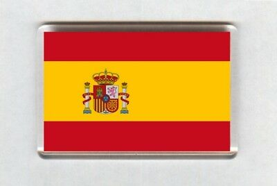 Spain Flag Fridge Magnet