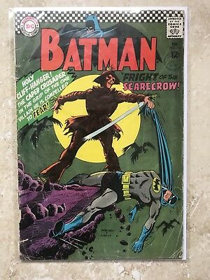 Batman #189 (1st Silver Age Appearance Of Scarecrow )