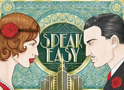 """SPEAKEASY The """"Prohibition"""" strategy board game  for 2 players"""