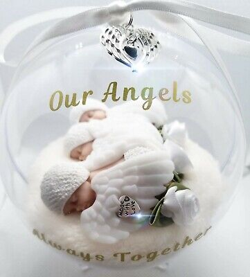Triplets, Infant Loss, Angel Baby, Miscarriage, Globe Memorial. Personalised.