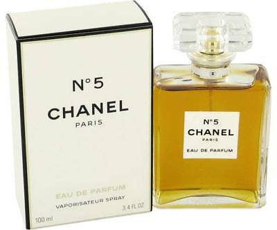 CHANEL Paris N5 100ML Eau De Parfum New & Sealed