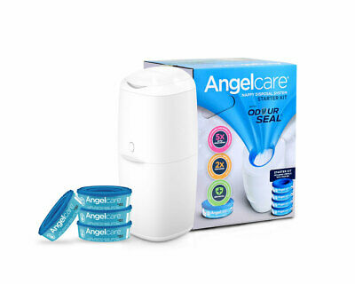 NEW Angelcare Nappy Disposal System Starter Kit from Baby Barn Discounts