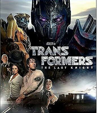 Transformers: The Last Knight Blu Ray + DVD