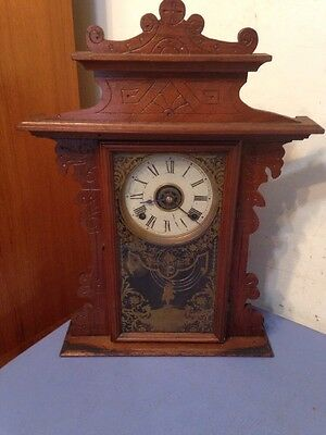 Antique EN Welch Parlor Clock