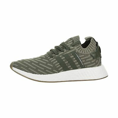924af9e2cc466 WOMEN ADIDAS BB2909 NMD R2 Prime Knit Running shoes navy green white ...