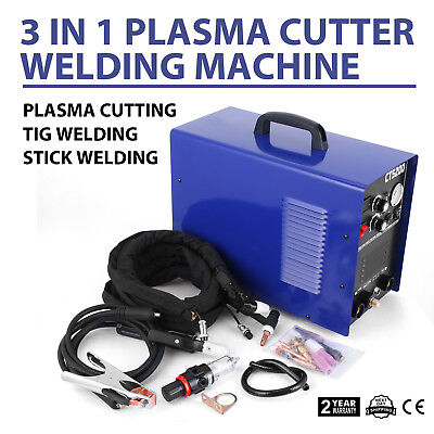 Vevor 3 in 1 Combo Welding Machine CT520D Plasma Cutter 50A/200A TIG MMA Welder