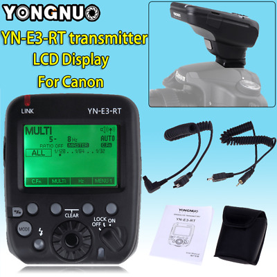 YongNuo YN-E3-RT Flash Speedlite Transmitter for Canon 600EX-RT II as ST-E3-RT