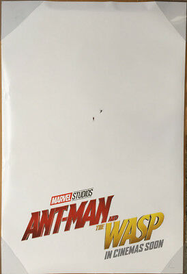 ANT-MAN AND THE WASP MOVIE POSTER 2 Sided ORIGINAL INTL Advance 27x40 PAUL RUDD