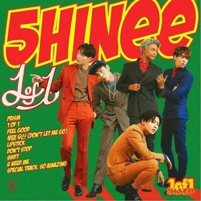 SHINEE [1 OF 1] 5th Album CD+POSTER+Photo Book+Booklet+Photo Paper+GIFT SEALED