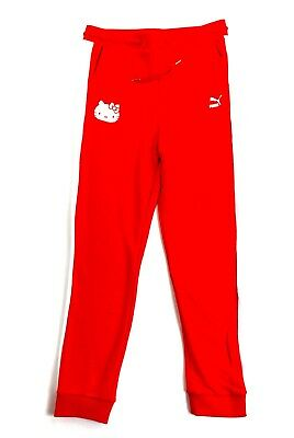 04f18d296 Puma X Hello Kitty Sweat Pants Red Sz L.Perfect with Puma x Hello Kitty