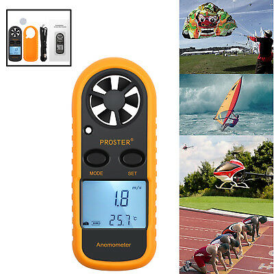 Ce Approved Digital Anemometer Wind Speed Meter Thermometer Sailing Lcd Handheld