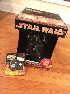 Darth Vader Deluxe Helmet Set With Breathing Device in box