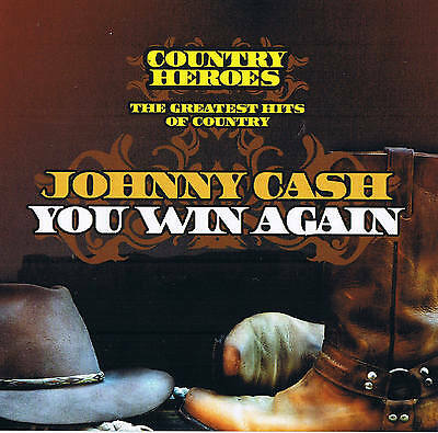 """Johnny Cash """" You Win Again """" Country Heroes New & Original Packaging Dynamic"""
