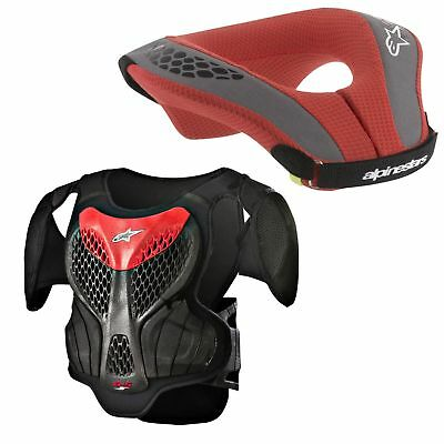 Alpinestars Neck Support Neckbrace Nackenschutz A-5S Brustpanzer Seque S/m Kids