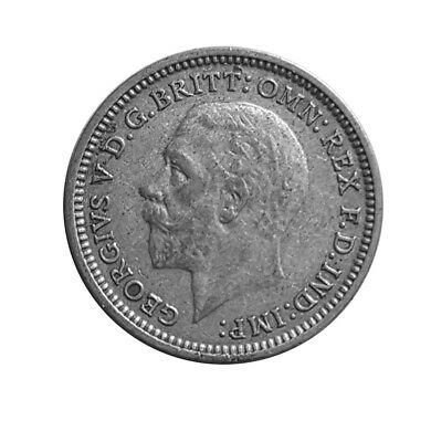1933 SILVER COIN - THREEPENCE - George V. - 1933    #P85