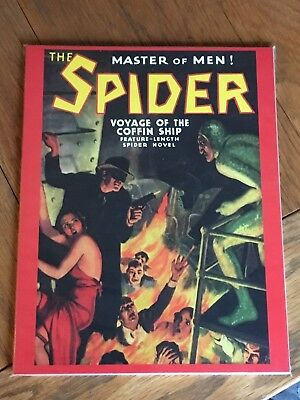 The Spider - Voyage of the Coffin Ship - Pulp Adventures Press No.45 orig.Jun 37