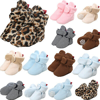 AU Baby Girl Boy Newborn Winter Warm Boot Toddler Infant Soft Crip Booties Shoes