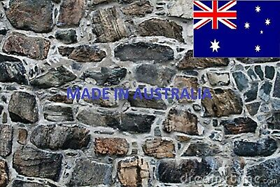 200 X 270Mm Ho/tt Scale Self Adhesive Large Stone Wall Paper Sheets See Pic. 2