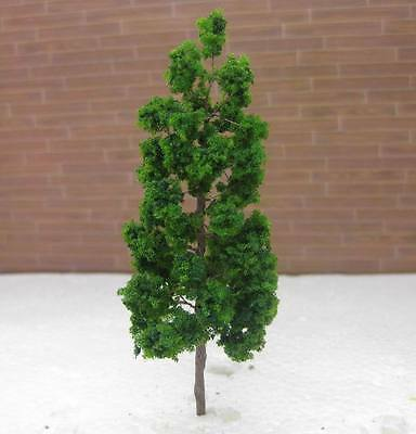 10pcs Realistic 90mm HO TT Gauge Model Train Wire Trees Sent In Box W/Tracking