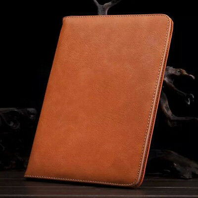 Genuine Soft Leather Smart Stand Case Cover for iPad 9.7 2018 Air Pro Mini 1 2 3