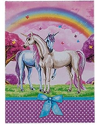 Einhorn Notizblock   Unicorn Notebook   Motiv 2  A7-Format  40 Seiten/Pages