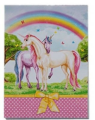 Einhorn Notizblock   Unicorn Notebook   Motiv 4  A7-Format  40 Seiten/Pages