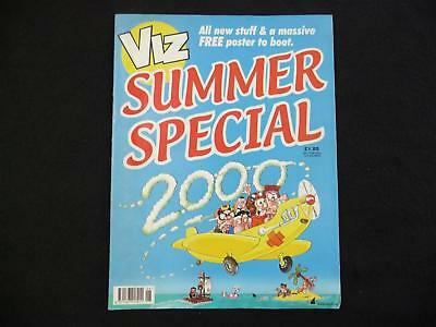 Viz Summer Special 2000 comic with Skegness is S**t poster (LOT#2761)