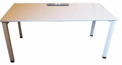 Herman Miller White Table with Powerboard (403-728-EB0)