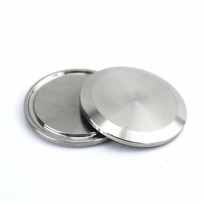 """For 1-3/4""""~2"""" Tri Clamp Stainless Steel Sanitary End Cap End Pipe Blank Flange"""
