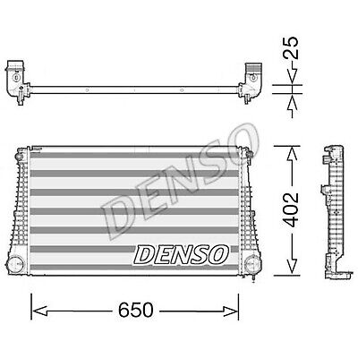 DENSO Intercooler - DIT06003 - Charger - Genuine OE Part - Single