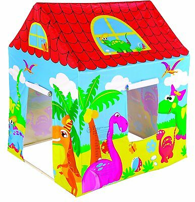 Large Fun Tent Playhouse Play House Children Fold Up Indoor Outdoor Party Castle