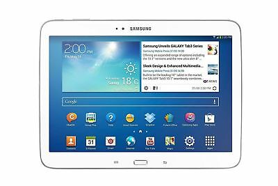 "Samsung Galaxy Tab 3 10.1"" Tablet 16GB Wi-Fi+4G LTE Unlock Android White UK"