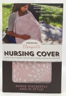 Bebe au Lait Elements Pink Petals Nursing Cover Nurse Discreetly and In Style