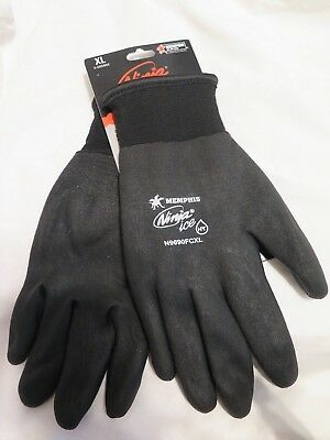 Memphis N9690FC Ninja Ice Fully Coated Insulated Cold Weather Work Gloves M-XL