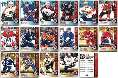 2017-18 Upper Deck National Hockey Card Day Canada - Finish Your Set - Singles