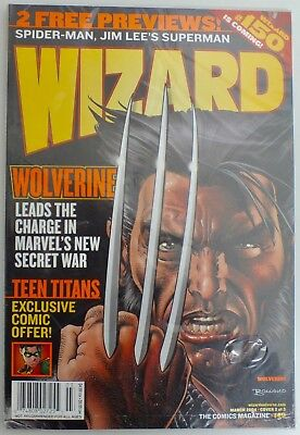 Wizard - The Comics Magazine - Issue 149 - Cover 2 - 2004 - new and sealed (459)