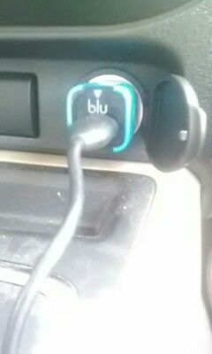 3 New BLU Single Port  5V-USB Car Charger lot of 3 chargers for: Apple, e-cig,LG