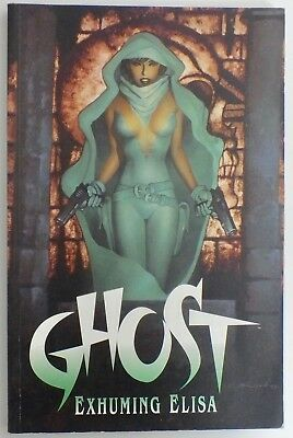 Ghost - Exhuming Elisa - Graphic Novel - Titan Books - First Edition - 1997 (461
