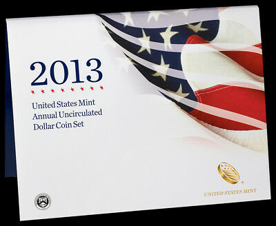 2013 Annual Uncirculated Dollar Coin Set - Bulk Quantity Offered Here !!