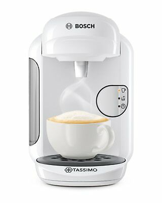 Bosch TAS1404 Tassimo Vivy 2 Multibeam Coffee Maker 1300W White Capsules Genuine