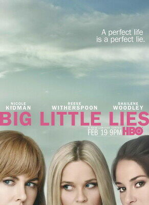 "001 BIG LITTLE LIES - USA Comedy TV Show 14""x19"" Poster"