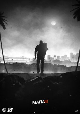 """012 Mafia 3 - Action Role Play Game 14""""x19"""" Poster"""