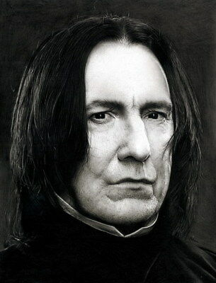 "046 Alan Rickman Harry - RIP Severus Snape UK Actor 14""x18"" Poster"