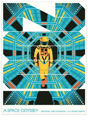 "026 2001 A Space Odyssey - Keir Dullea Classic Movie 14""x18"" Poster"