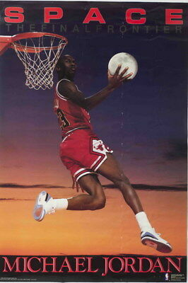 "138 Michael Jordan - MJ 23 Chicago Bulls NBA MVP Basketball 14""x21"" Poster"