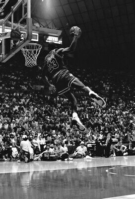 "173 Michael Jordan - MJ 23 Chicago Bulls NBA MVP Basketball 14""x20"" Poster"