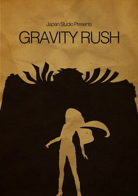 "015 Gravity Rush 2 - Action Fight Game 14""x19"" Poster"